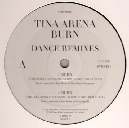 Burn Dance Remixes PROMO