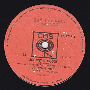 Johnny B. Goode / I'm not sure