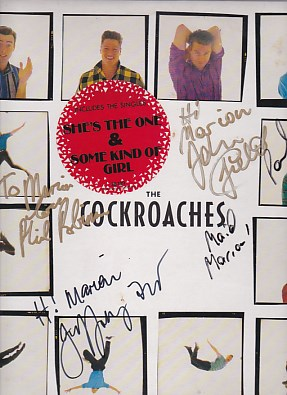 The Cockroaches - AUTOGRAPHED/SIGNED