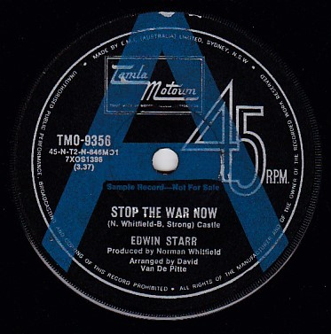 Stop The War Now / Gonna Keep On Tryin' PROMO