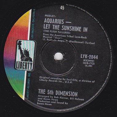 Aquarius/Let the sunshine in / Don'tcha hear me callin' to ya