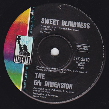 Sweet Blindness / Bobbies Blues
