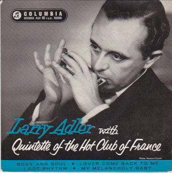 Larry Adler with Quintet Of The Hot Club Of France EP