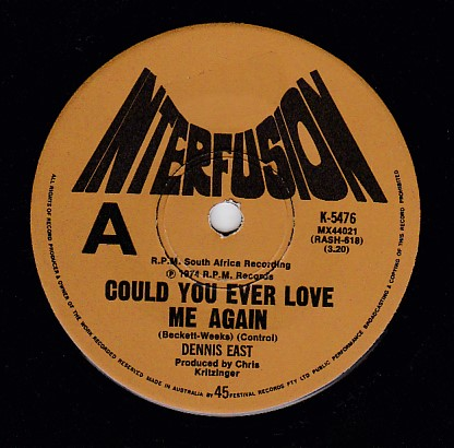 Could you ever love me again / Listen