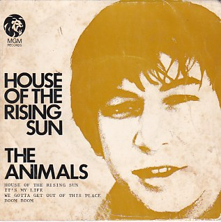 House Of The Rising Sun EP COVER ONLY