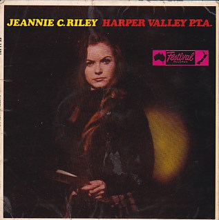 Harper Valley P.T.A. EP COVER ONLY