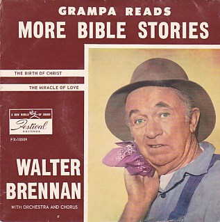 Grampa Reads More Bible Stories EP COVER ONLY
