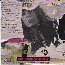 Patti Smith CD Sampler PROMO