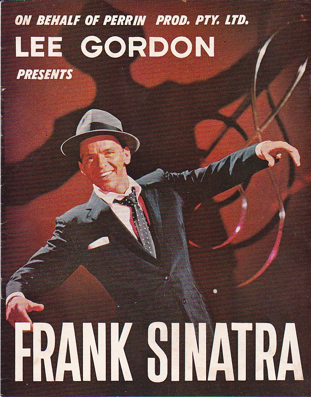 Lee Gordon Presents Frank Sinatra - Tour Program