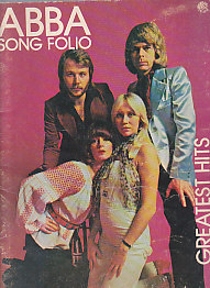 Abba Song Folio Greatest Hits