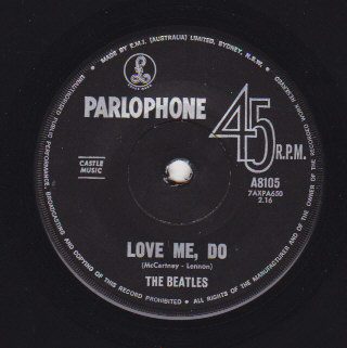 Love me do / I saw her standing there