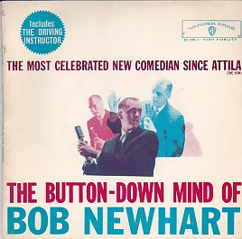 The Button Down Mind Of Bob Newhart EP
