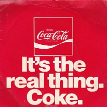 It's The Real Thing. Coke