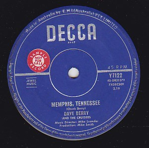 Memphis Tennessee / Tossin' And Turnin'