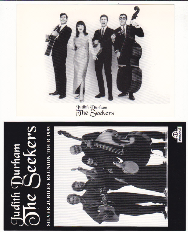 Seekers Silver Jubilee Promo Postcards