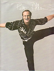 Peter Allen Australian Tour Program